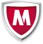 mcafee only logo